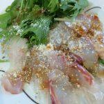 白身魚のサラダ