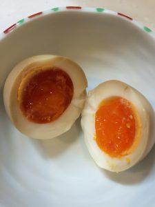 半熟味付け煮卵
