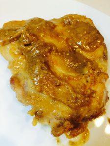 鶏肉の味噌照り焼き
