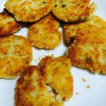 豆腐と明太子のヘルシーコロッケ