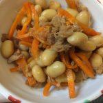 ツナと大豆の煮たやつ