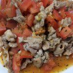 豚肉とトマトのイタリアン炒め