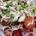 枝豆とささみのイタリアンサラダ