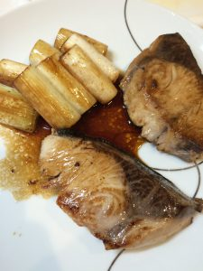 ぶりのポン酢焼き