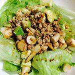 エリンギとアボカドの温サラダ