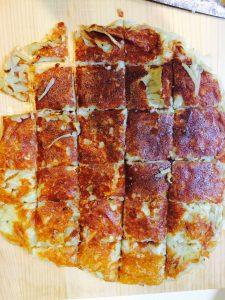 ポテトとチーズのカリカリ焼き