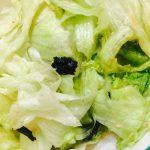 ツナと海苔のサラダ