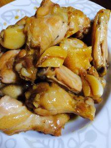 にんにく鶏
