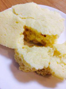 ヨーグルトで簡単蒸しパン