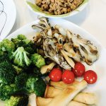 焼き野菜と肉味噌ディップ