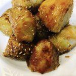 揚げ焼き芋の甘辛