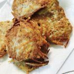 ひき肉とジャガイモのカリカリ焼き