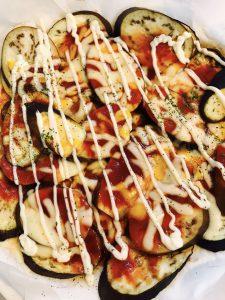 簡単茄子のチーズ焼き