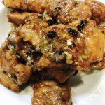 豚ばら肉の豆豉炒め