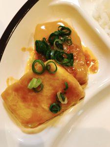 豆腐の海老マヨ風