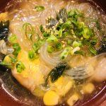 エビとコーンの春雨スープ