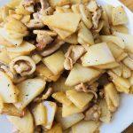 豚肉とジャガイモの炒め