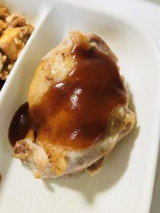 鶏肉の甘酢オイスターソース