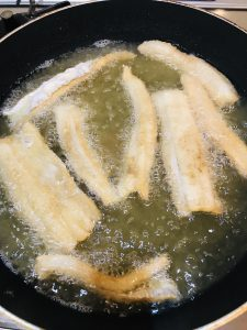 太刀魚の唐揚げ