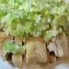本格中華の蒸し鶏