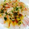 落合シェフ直伝 真鯛のカルパッチョ